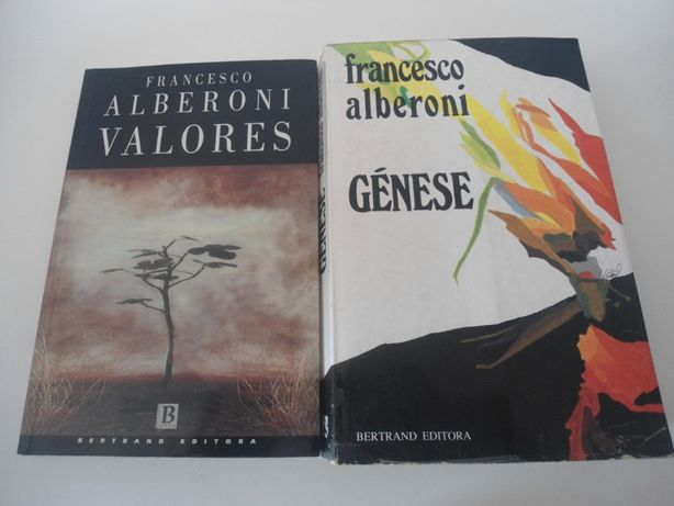 2 Obras de Francesco Alberoni (Década de 90)