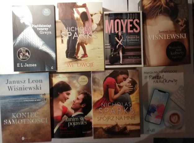 Literatura kobieca: książki nowe i używane. Sparks, Wiśniewski, Moyes