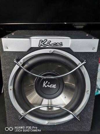 Kicx ICQ-300BA subwoofer aktywny skrzynia basowa tuba