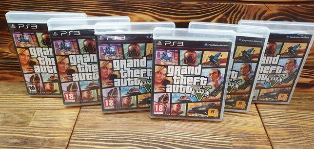 Sony Playstation 3 GTA 5 русская версия б/у гта 5 пс3 диски игр ps3 V
