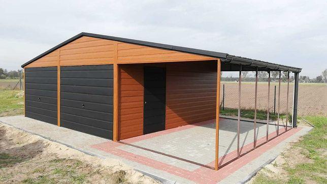 PRODUCENT blaszany garaż jakość premium i szybkie terminy!