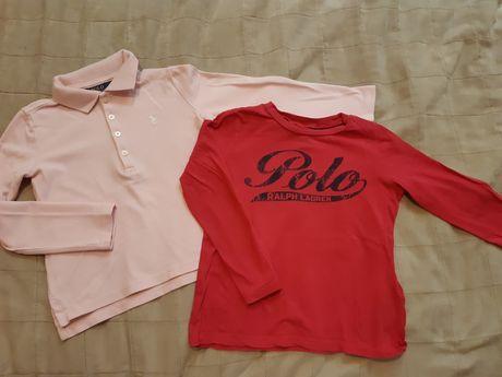Koszulki dla dziewczynki Ralph Lauren