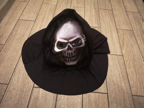 Maska czaszki na halloween, czaszka