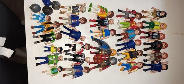 Playmobil, duży zestaw figurek. Ludziki, zwierzęta, akcesoria