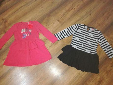 Sukienki r.98 i r.104