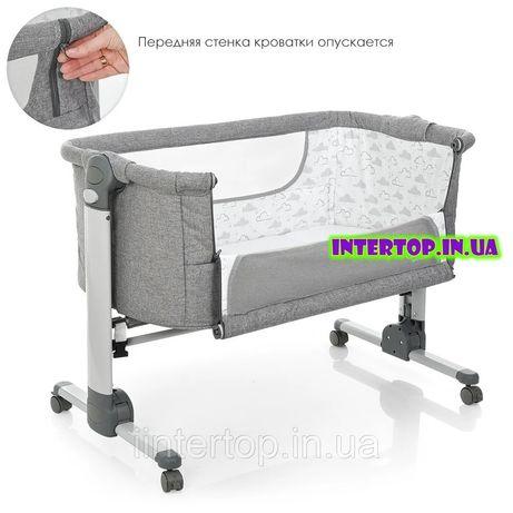 Приставная кроватка CARRELLO кроватка для новорожденных детская кроват