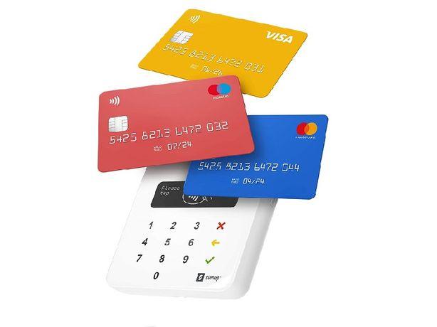 Мобильный карточный терминал SumUp Air для бесконтактных платежей
