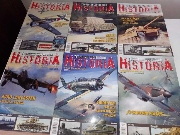 Technika wojskowa Historia numery specjalne 1-6 2012