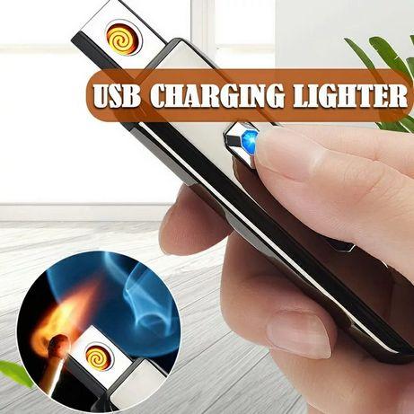 Зажигалка электронная с зарядкой от usb