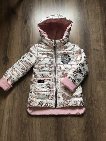 Демисезонные куртки для девочек, детские куртки, весенние куртки