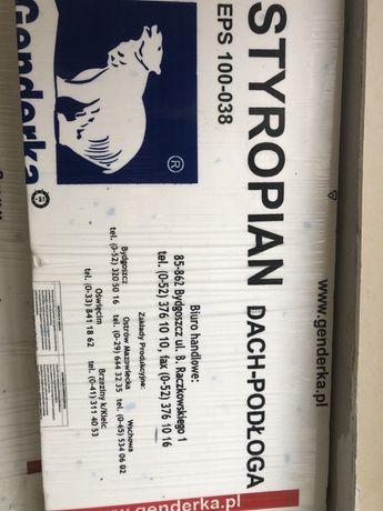 Styropian dach podłoga EPS 100-038 grubość 5cm