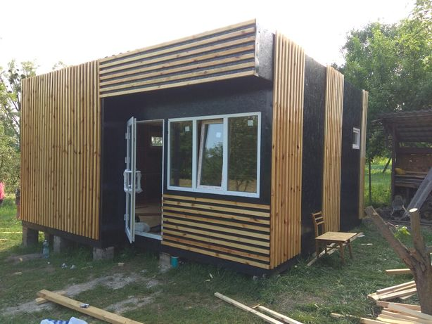 Дачный домик 6800у.е. Изготовление каркасных домов,бытовок