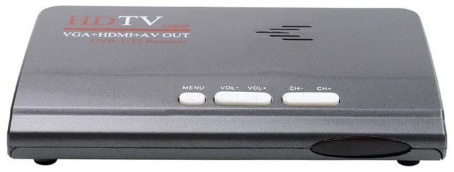 ТВ тюнер TV медиацентр DVB-T2 HDMI 1080 VGA