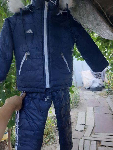 Продам комбинезон зима на мальчика размер 30 куртка и штаны