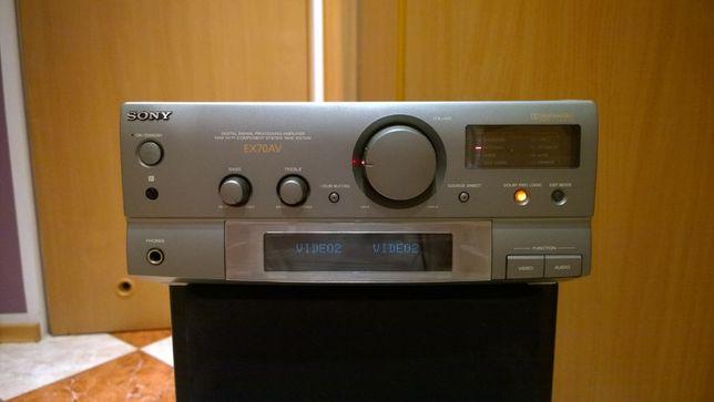Wzmacniacz Sony 2 x 50 Watt. Zadbany, sprawny 100%