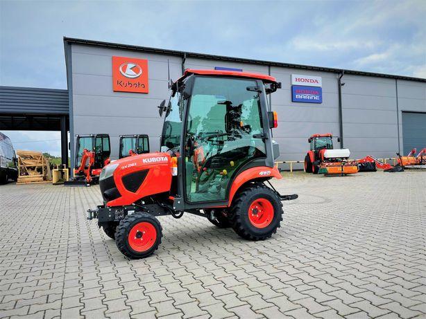 Kubota BX261 z kabiną Traktor Minitraktor Ogrodniczy Komunalny 26KM
