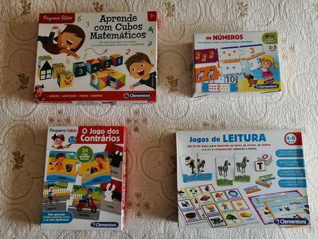 Jogos Didáticos dos 3 aos 6 anos