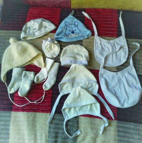 Одежда для новорожденных бодик ползунки распашонки чепчики царапки