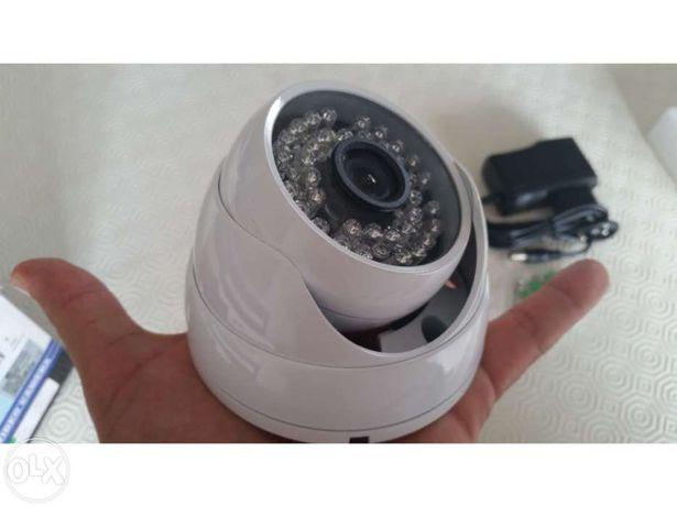 Camera dome 1200 linhas sensor Sony 1/3 CMOS camera metal branca 2.8mm 3.6mm 6mm video vigilancia