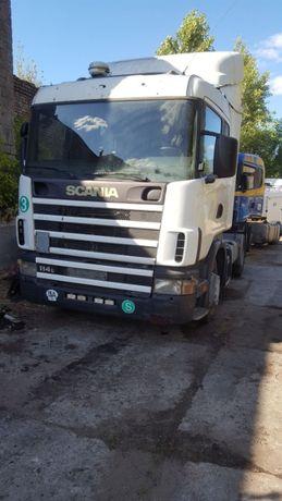 Разборка Скания Scania 114, 124 MAN командор кпп grs 900 nr, документы