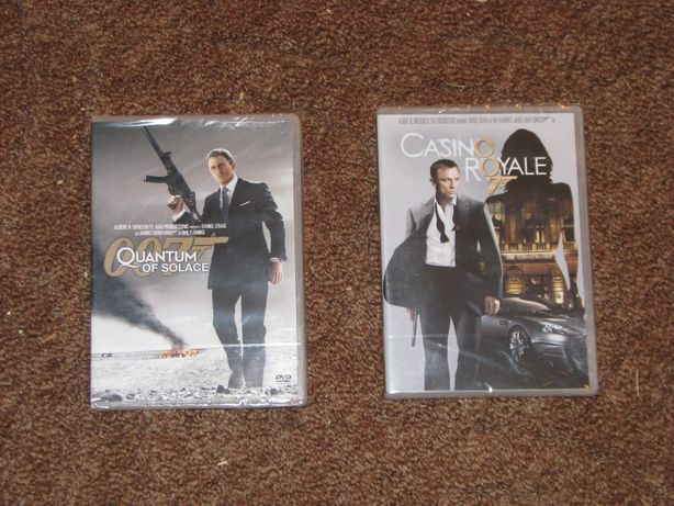Casino Royale, Quantum of Solace James Bond