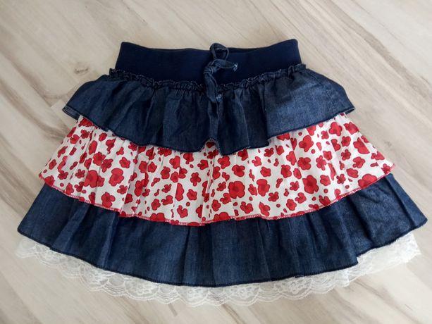 Продам  летнюю юбку для девочки