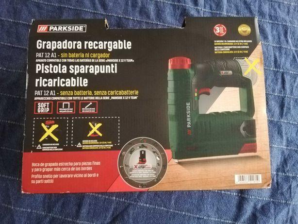 Agrafador Parkside a bateria 12V