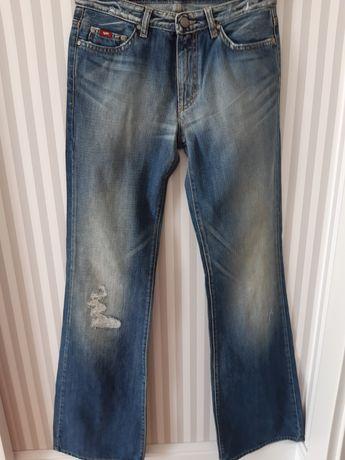 Nowe spodnie jeansowe dzwony GAS rozm Xs