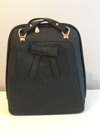 Elegancki plecak- czarny