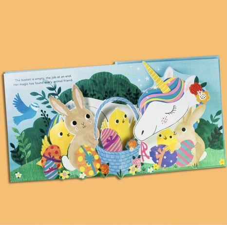 Pop-up The Easter unicorn ,поп-ап книга панорама,Usborne , Сабуда