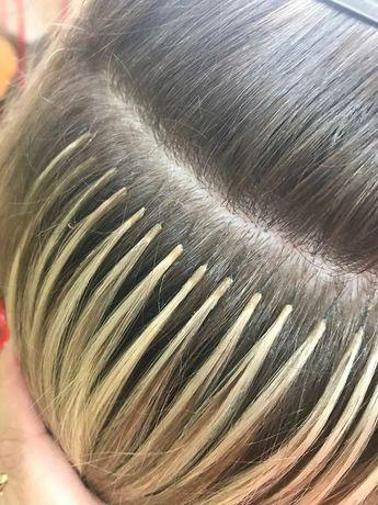 Наращивание волос  все виды капсул  6грн - 1прядь