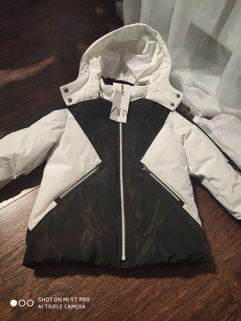 Kurtka narciarska Zara rozmiar 122