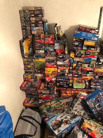 Pakiet ponad 240 zestawów klocków LEGO