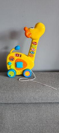 Gitara żyrafa smily play 2w1