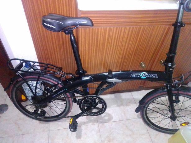 Bicicleta dobrável alumínio.
