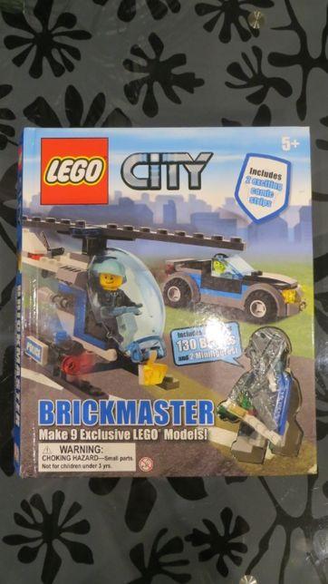 Конструктор LEGO City 9 в 1, вертолет, полицейские машины, 5+