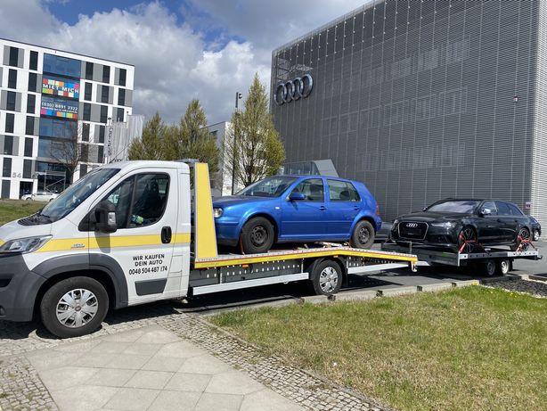 Laweta Pomoc Drogowa Transport Autolaweta