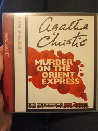 Audiobook Murder on the Orient Express Agatha Christie English angiels
