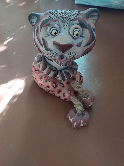 Тигр копилка,статуетка 17см Запорожье - изображение 1