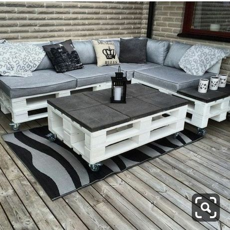 Мебель из паллет/поддонов/бруса