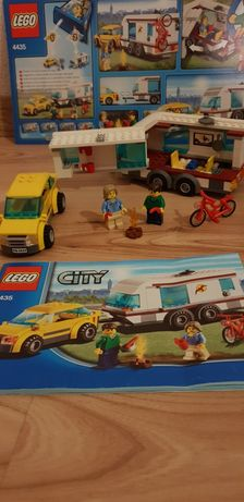 Lego 4435 Samochod z przyczepą kempingową