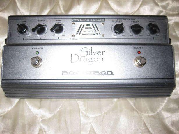 Срочно продам гитарный ламповый дисторшн Rocktron Silver Dragon с б/п.