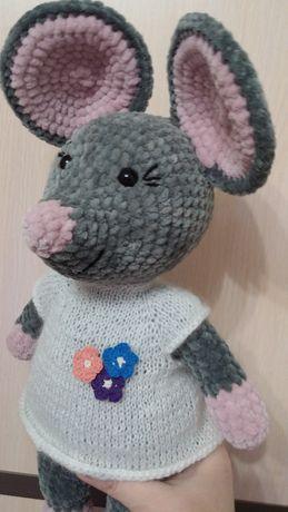 Мышка Плюшка (ручная работа)