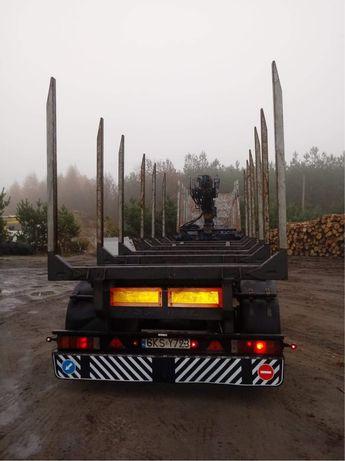 Przyczepa Schmitz do drewna do lasu
