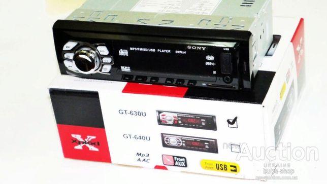 Атомагнитола Sony 1236 Usb Card Radio 1090 руб