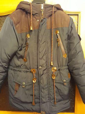 Куртка зимова для хлопчика 12-14 років