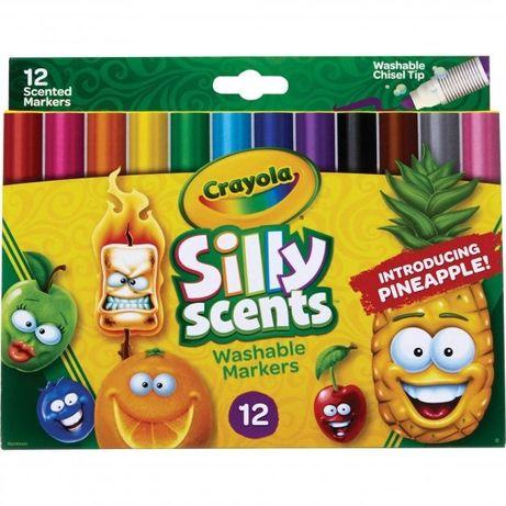 Хіт!!! Ароматизовані змиваючі маркери crayola silly scents
