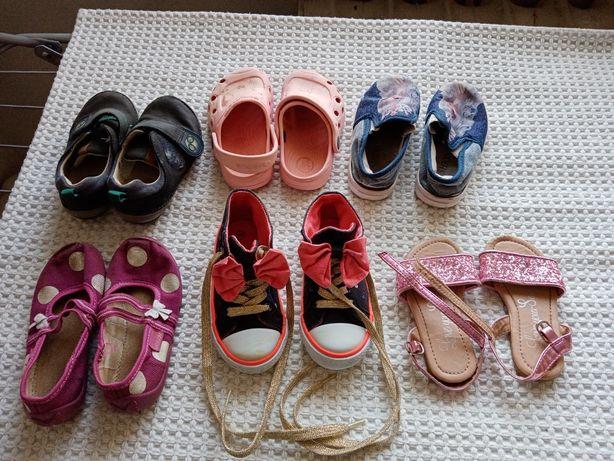 Обувь на девочку бу, цена за все