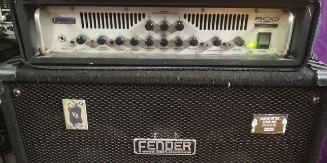 Amplificador p/ Baixo Fender 800Pro