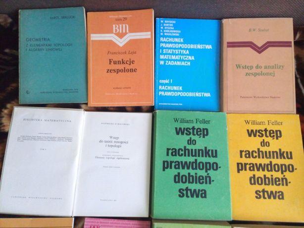 matematyka podręczniki akademickie i inne